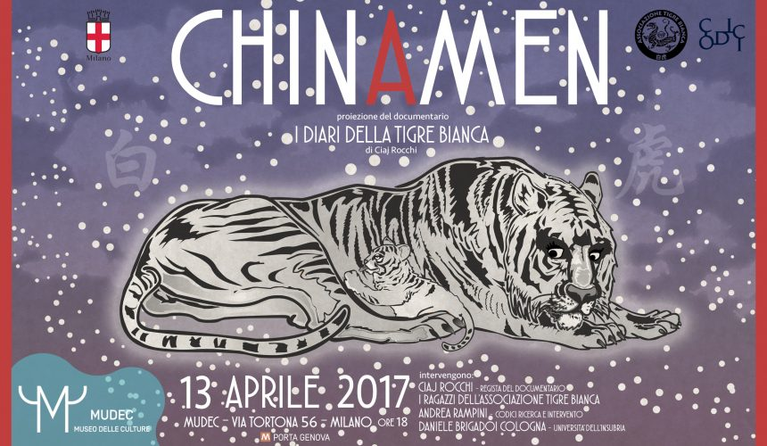 I DIARI DELLA TIGRE BIANCA – MUDEC 13 APRILE 2017